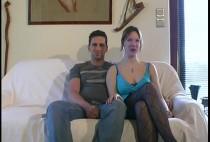 210 1 210x142 - Christine se lance devant la caméra avec son mari et un inconnu