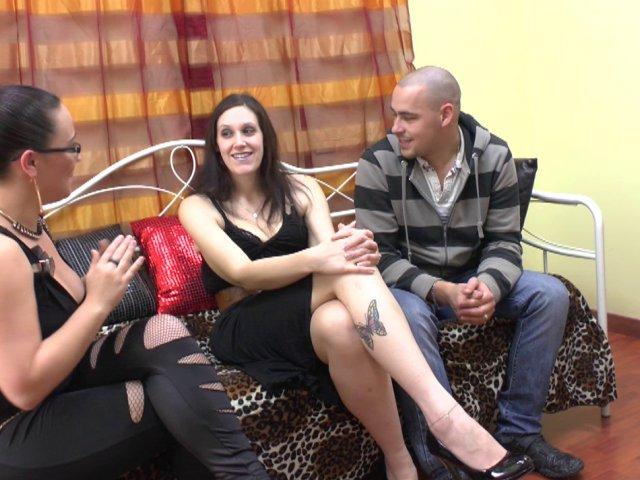 Casting sexe de folie avec sublime femme à gros seins